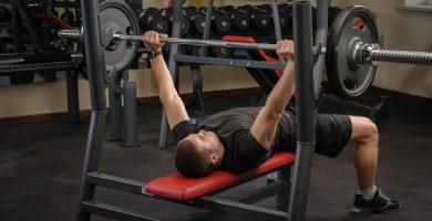 bancos de musculación